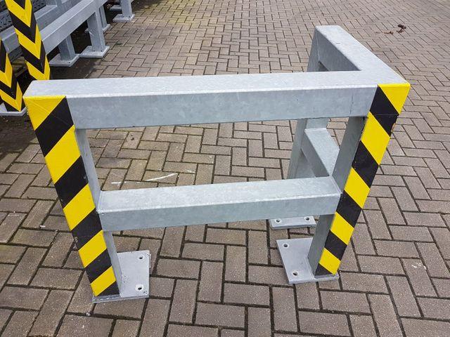 Massiv Anfahrschutz 1,5 m Rammschutzgeländer Geländer Planke verz. 620 € Bügel – Bild 4