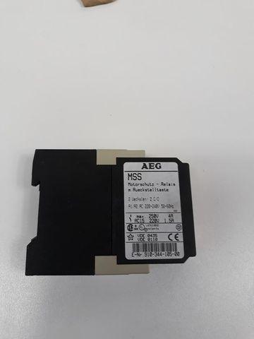 AEG Motorschutzrelais MSS 910-344-105-00 Rückstelltaste 250V 4A 220V 1,5 50/60Hz – Bild 4