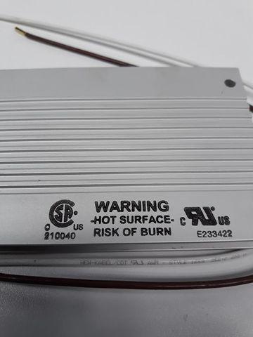 KOCH Bremswiderstand breaking resistor bw 20/09 72R 200W-850VDC BWD500072 surface – Bild 3