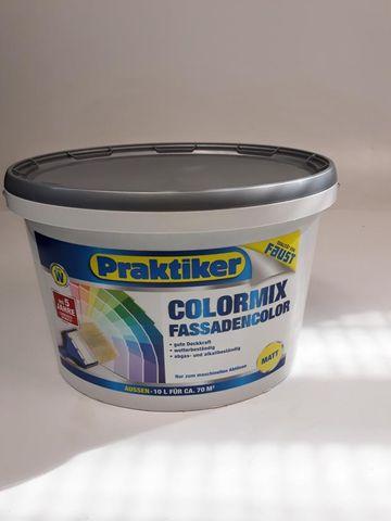 (2,19€/L)Posten 18x FAUST Wandfarbe 3x Fassadenfarbe weiss matt 205 L. Colormix – Bild 11