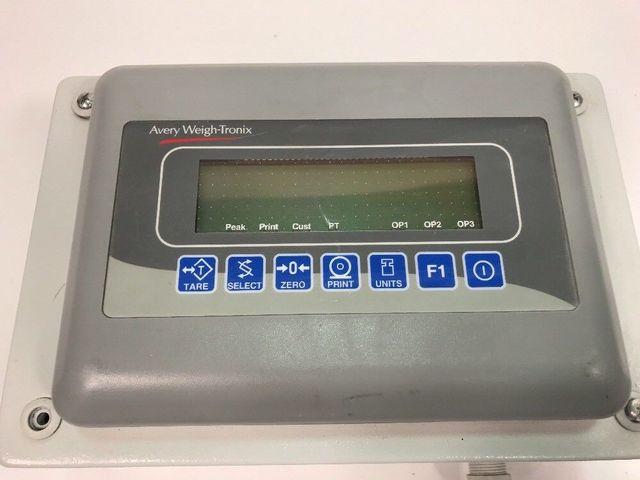 Avery Weight Tronix Model E1005 Waage Wiegeeinheit max 250kg, 0,1kg Wägeeinheit – Bild 2