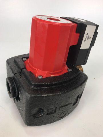 KSB Heizungsumwälzpumpe PN 10 Typ RIO 25-50D, Id Nr. 29132122, 230 - 400V Pumpe – Bild 1