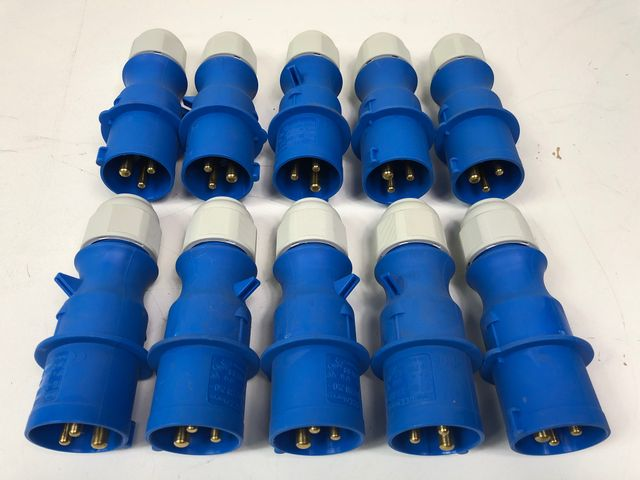 10x Bals 31001 Kupplung 3-pol 16A Made in Germany Posten