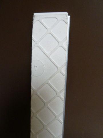 Fliese 3x25 Borduere Edelstahlbordüre Fliesenprofil Edelstahl Bordüre VA *15,95€ – Bild 6