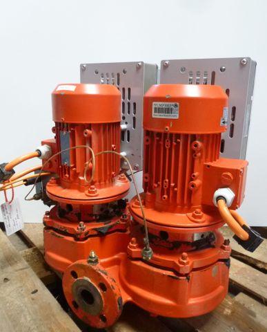 KSB Pumpe Etaline GN 032-160 /054 G Kreiselpumpe Doppelpumpe + Frequenzumrichter – Bild 2