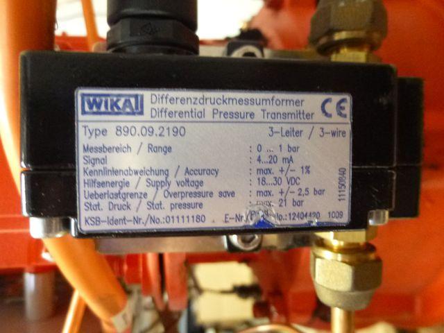 KSB Pumpe Etaline GN 032-160 /054 G Kreiselpumpe Doppelpumpe + Frequenzumrichter – Bild 3