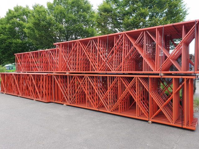 Redirack Regal 6m Palettenregal Traversen Tiefenstege Schwerlastregal T:145cm – Bild 1