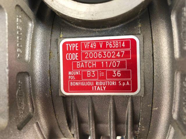 Bonfiglioli BN63B4 Getriebemotor + VF49 V P63B14 Schneckengetriebe – Bild 5
