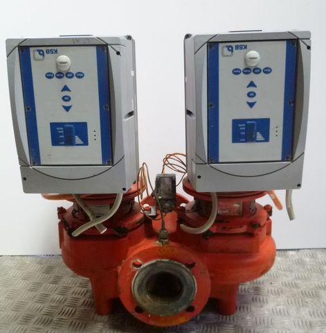 KSB Pumpe Etaline GN 065 - 160/114 Kreiselpumpe Doppelpumpe + Frequenzumrichter – Bild 1