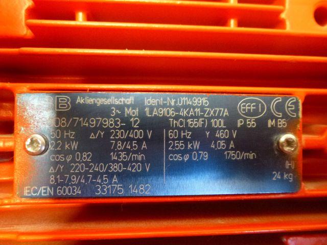 KSB Pumpe Etaline GN 050-250/224 G11 Inlinepumpe Kreiselpumpe Pumpe – Bild 4