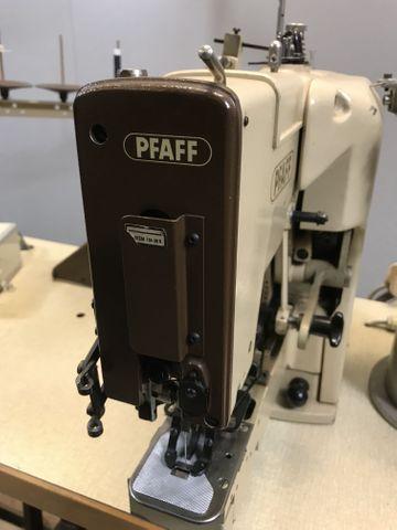 PFAFF 3306 Industrie-Nähmaschine Knopfnähmaschine Knopfannähautomat 4 Loch – Bild 2