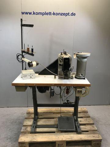PFAFF 3306-1/01-B Industrie-Nähmaschine Knopfnähmaschine Knopfannähautomat  – Bild 1