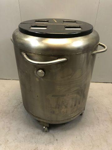AirReel Tank 200 Liter flüssiger Stickstoff Kessel Liquid Nitrogen Kühler – Bild 2