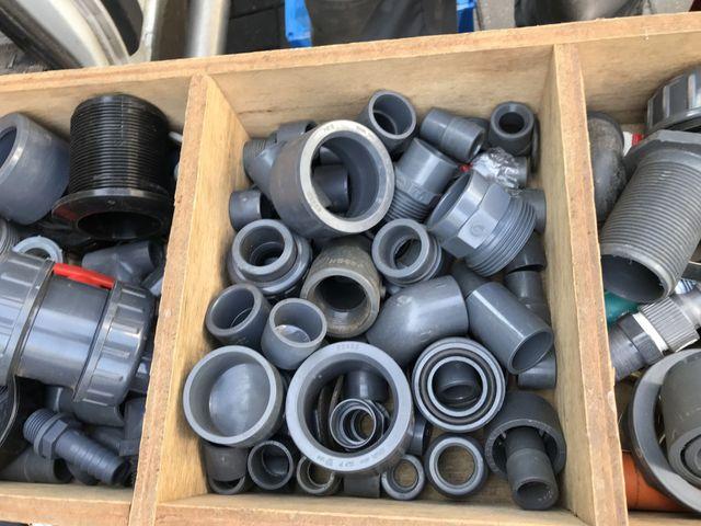 mehrere 100 Rohranschlüsse Verbinder Zwischenstück Zubehör Klempner Installateur – Bild 3