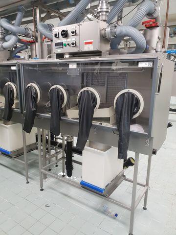 B&E FD 1600 Isolator Isolationskammer Glovebox  Isolation Chamber FD1600  – Bild 2