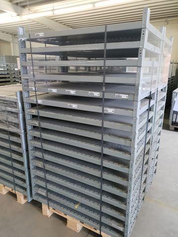 Schäfer System R 4000 Grundfeld Anbaufeld Regal Fachbodenregal ca. 102x60x217cm – Bild 7