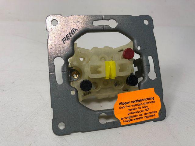 10x PEHA H 515 UP-Serienschalter 10 A X, 250 V Unterputz Schalter – Bild 1