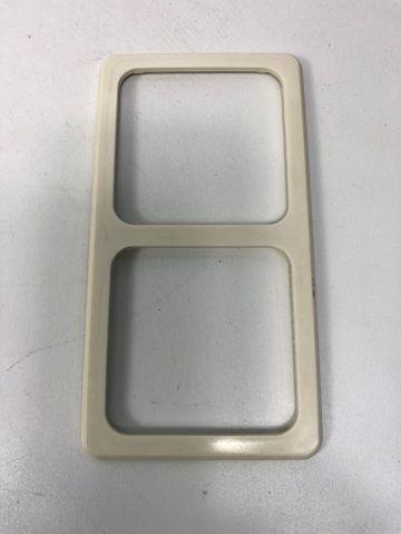10x PEHA D 80.672 W Kombi-Rahmen 2-fach Standard weiß – Bild 1