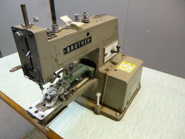 Brother Industrie Nähmaschine CB3-B912-1 Knopf Maschine Knopfnähmaschine  – Bild 4
