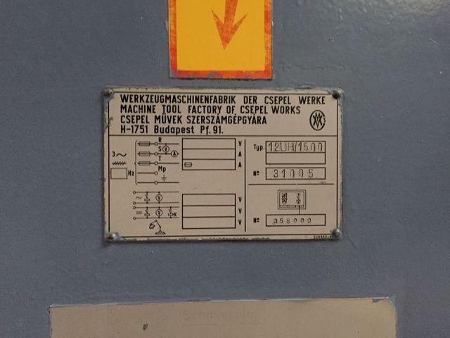 Csepel 12 UH 1600 Radialbohrmaschine Bohrmaschine MK 5 Ausladung 1600 mm – Bild 11
