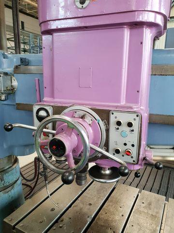 Csepel 12 UH 1600 Radialbohrmaschine Bohrmaschine MK 5 Ausladung 1600 mm – Bild 5