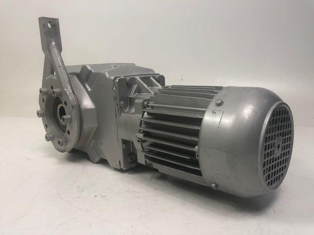 Bauer BK20-54HUW/D08LA4-TF/C1-K35 Getriebemotor Elektromotor Drehstrom 400V – Bild 2