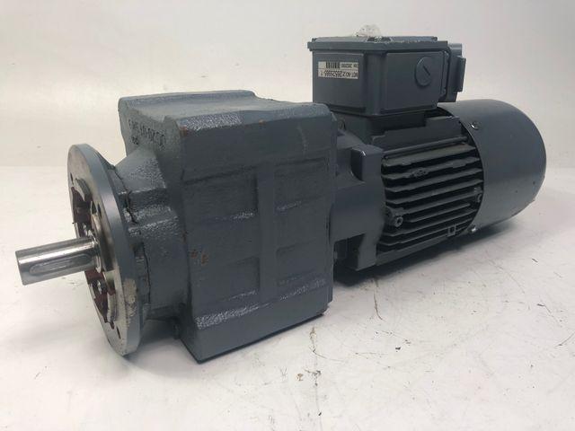 Bauer BG20-37/D08MA4-TOF-ST-K/ESX010A8/UL-SP Getriebemotor Elektromotor 230/400V – Bild 1