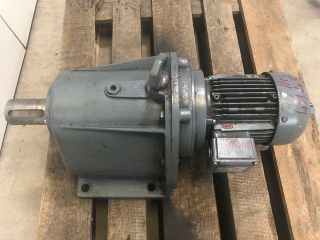 Bauer G43-11/DK84-200 Getriebemotor Elektromotor 230/380V 0,55 kW 1420 U/min – Bild 2
