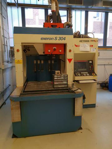 Exeron S 304 K Retro Senkerodiermaschine + Exeron 400 Control – Bild 1