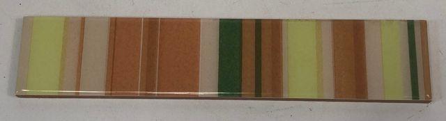 27x Fliese Bordüre 250 x 50 mm gestreift mehrfarbig Wandfliese Kachel Wandkachel – Bild 1