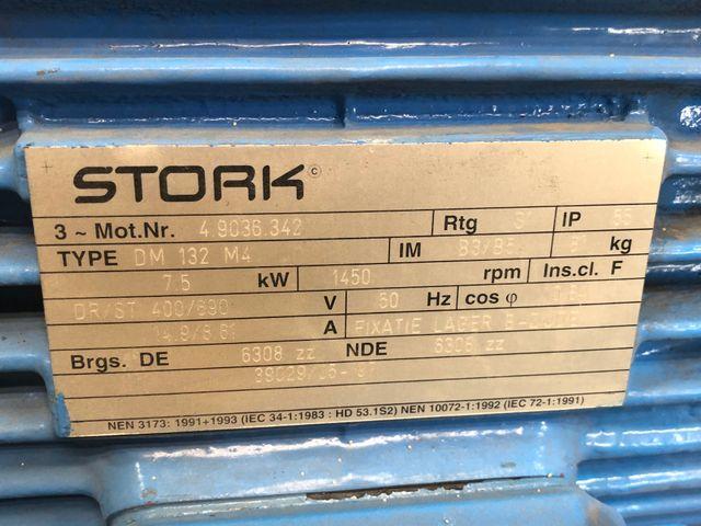 Stork Kreiselpumpe CB80-250G1 Pumpe Elektromotor DM132M4 / 1450 rpm 7,5 kW  – Bild 6