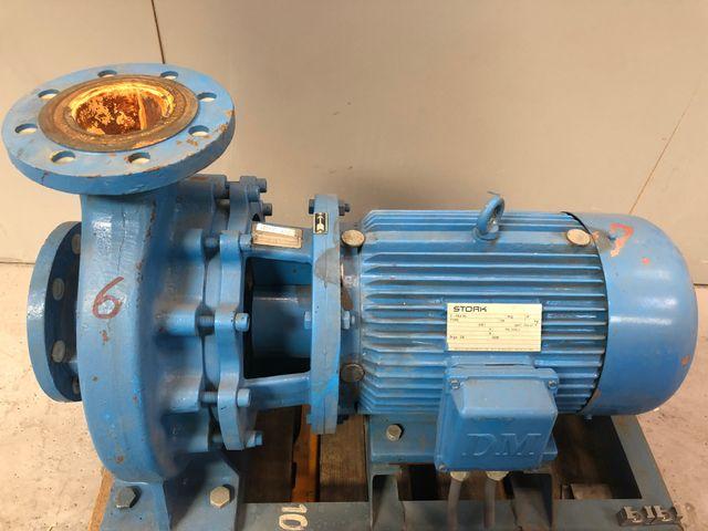 Stork Kreiselpumpe CB80-250G1 Pumpe Elektromotor DM132M4 / 1450 rpm 7,5 kW  – Bild 1