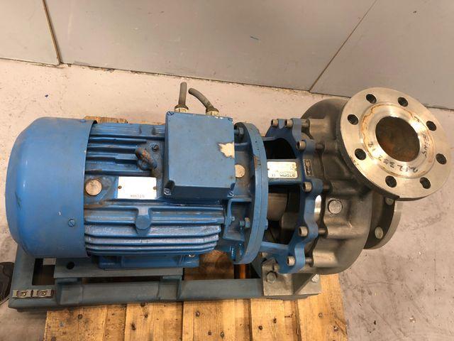 Stork Kreiselpumpe CB80-250R6 Pumpe Elektromotor SLG132M-4 / 1450 rpm 7,5 kW  – Bild 3