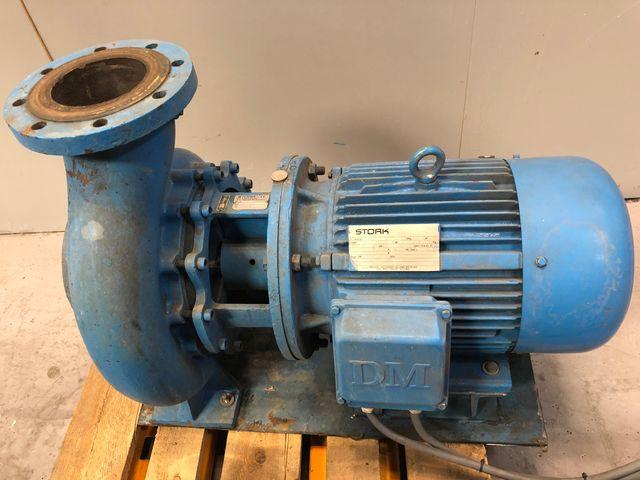 Stork Kreiselpumpe CB125-250G1 Pumpe Elektromotor DM160M4 / 1460 rpm 11,0 kW  – Bild 2