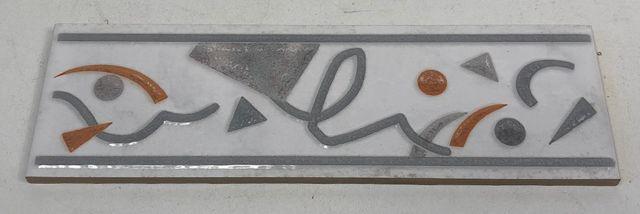 64x Fliese Bordüre 200 x 60 mm Modern2 glänzend Wandfliese Kachel 09 – Bild 1