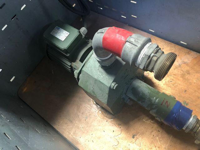 Saer M200 Kreiselpumpe selbstansaugende Elektropumpe komplett mit 20m Schlauch – Bild 4