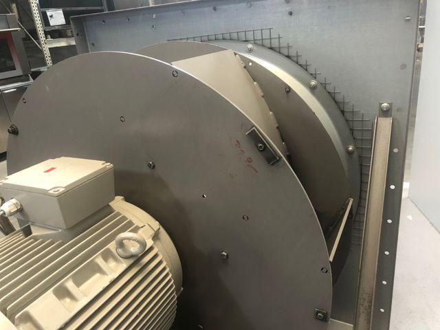 Nicotra/Gebhardt RLM 56-0900 Radialventilator Siemens Elektromotor 17,3 kW – Bild 5