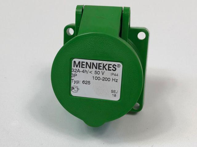 Mennekes 625 Wandsteckdose Steckdose 32A 3-polig 100-200 Hz Starkstrom – Bild 1