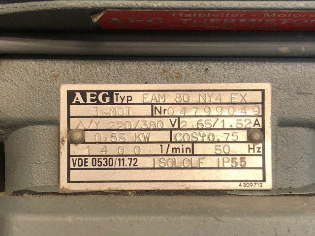 Radialventilator CMV 250-6 Absauganlage Absaugung Gebläse Exhaust Elektromotor – Bild 6