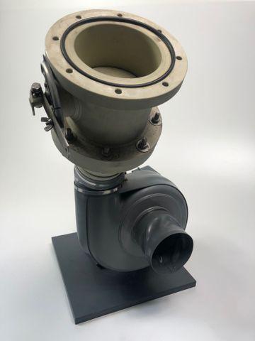 Radialventilator 18 RU 110 M-23-Ex Kleinradialventilator Absaugung Gebläse – Bild 9
