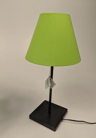 VATEA Tischlampe Kopf schwenkbar Stehlampe inkl. Leuchtmittel 5,5 W Lampenschirm – Bild 1