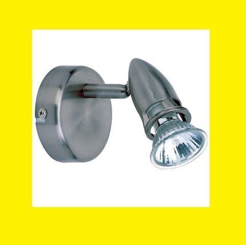 BRILLIANT Riva Wandspot Kopf schwenkbar ink Leuchtmittel Lampe Leuchte Spot – Bild 1