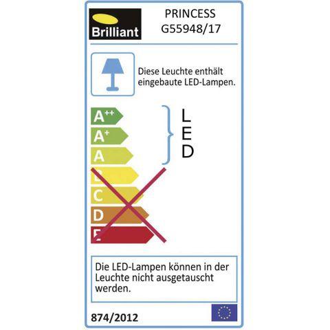BRILLIANT Princess G55948/17 A++ NEU Tischleuchte Tischlampe Lampe Leuchte LED  – Bild 5