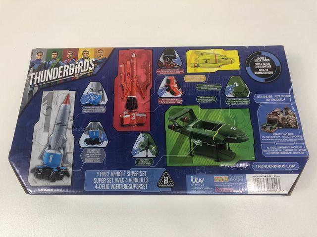 Vivid Thunderbirds Fahrzeuge Super Set 4-teilig 90294.5200  – Bild 2