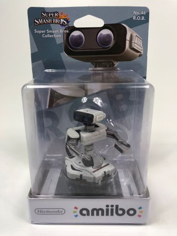 Amiibo  Nr. 46 - R.O.B. - Super Smash Bros. Collection - Nintendo