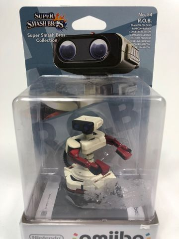 Amiibo  Nr. 54 - R.O.B. Famicom - Super Smash Bros. Collection - Nintendo