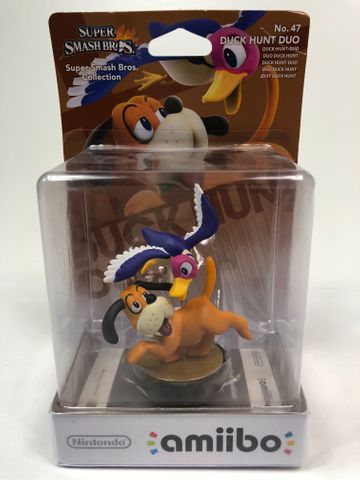 Amiibo - Duck Hunt Duo - Super Smash Bros. Collection No. 47 - Nintendo