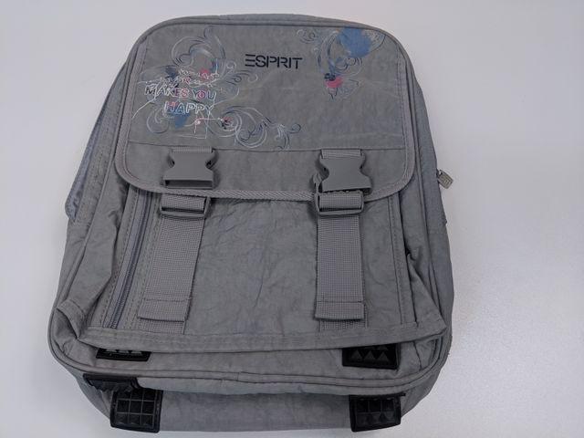 Esprit Rucksack Makes You Happy Bag Schulranzen Schultasche Schulanfang Tasche – Bild 1