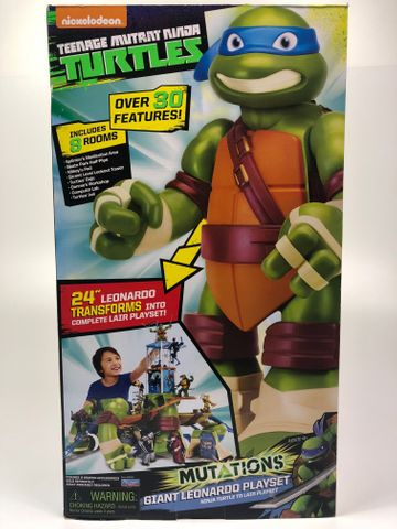 Teenage Mutant Ninja Turtles GPZ95151 Mutations Giant Leonardo Playset – Bild 2