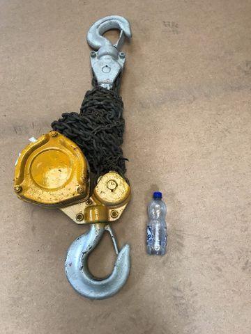 10t Kettenzug Kettenwinde Hebezug Flaschenzug Chain Block. Kein China Mist – Bild 1